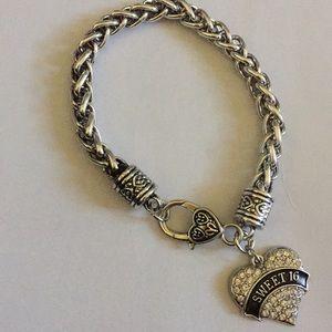 Jewelry - Sweet 16 charm bracelet